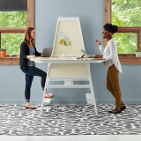 Bivi Standing Height Table for Two by Steelcase