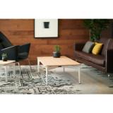 Bassline Rectangular Coffee Table by Steelcase