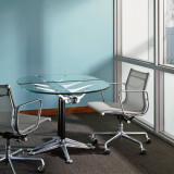 Oval Burdick Table by Herman Miller
