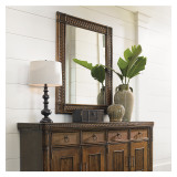 Bali Hai Sunrise Landscape Mirror by Tommy Bahama Home
