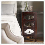 Kensington Place Lucerne Mirrored Nightstand by Lexington