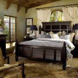 Kingstown Malabar Panel Bed by Tommy Bahama Home