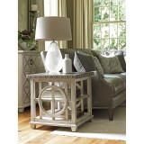 Oyster Bay Lewiston Square Lamp Table by Lexington