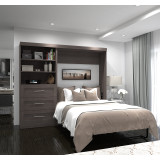 "Pur 95"" Full Wall Bed Kit by Bestar"