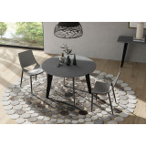 Amsterdam Round Dining Table by Modloft