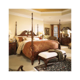 Cherry Grove Pediment California King Poster Bed by American Drew