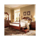Cherry Grove California King Low Poster Bed by American Drew