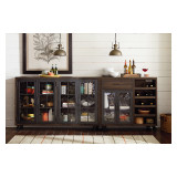 Hidden Treasures Bar Trolley by Hammary