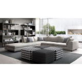 Perry One Arm Corner Sofa with Right Facing Arm by Modloft
