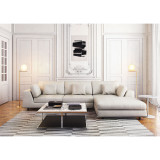 Perry Three Seat Sofa with Ottoman by Modloft