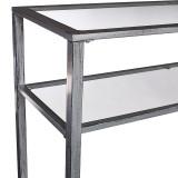 Bronte Silver Console Table