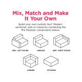 Mix Modular Sectional 4-Piece by Gus Modern