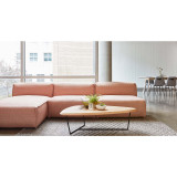 Nexus Three Piece Sectional Sofa with Chaise by Gus Modern