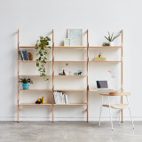 Branch-3 Shelving Unit with Desk by Gus* Modern