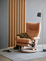 Stressless Wing Chair Medium with Power Base by Ekornes