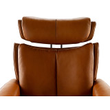 Stressless Magic Chair and Ottoman, Medium with Signature Base by Ekornes