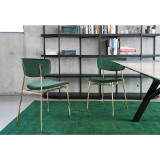 Fifties Metal Chair by Calligaris