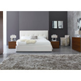 Swami Upholstered King Storage Bed by Calligaris