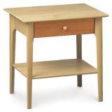"Sarah 24"" h 1 Drawer Nightstand by Copeland Furniture"