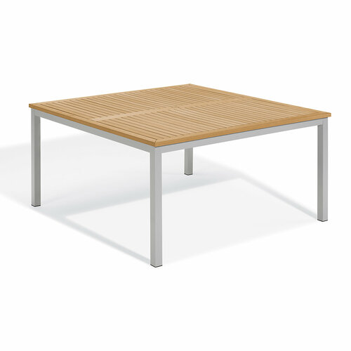 """Travira 60"""" Square Dining Table by Oxford Garden"""