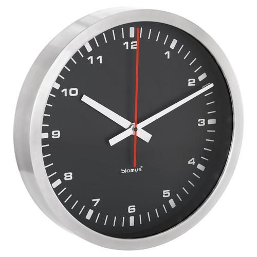 Era Large Black Wall Clock