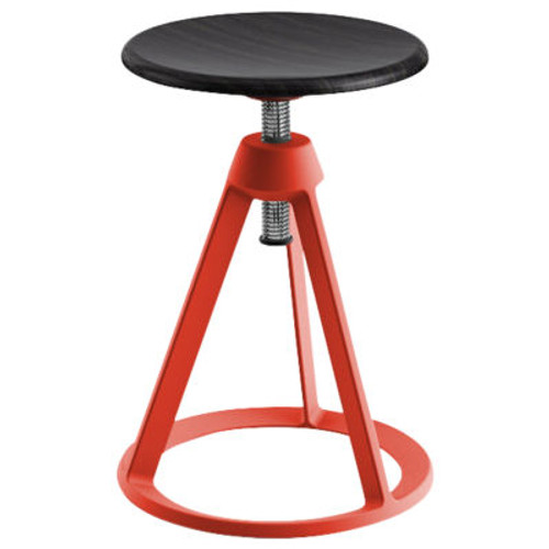 Piton Adjustable-Height Stool by Knoll