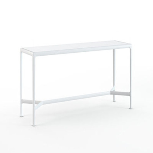 """Richard Schultz 1966, 60"""" x 18"""" Outdoor Table by Knoll"""