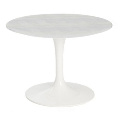 "Saarinen Outdoor Side Table, 20"" Round by Knoll"