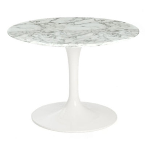 Saarinen Round End Table by Knoll