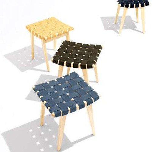 Risom Sitting Stool for Kids by Knoll