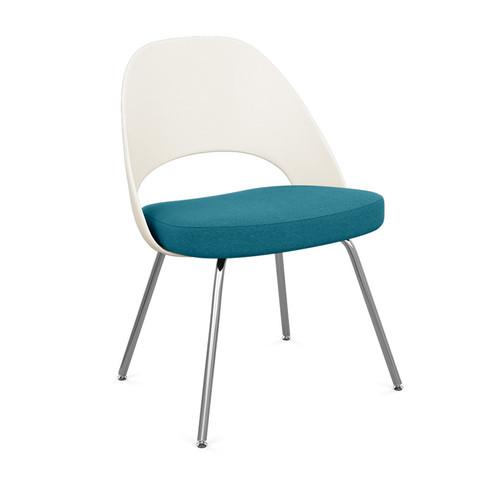 Saarinen Executive Armless Chair, Plastic Back by Knoll