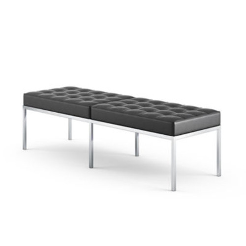 Florence Knoll 3 Seat Bench by Knoll