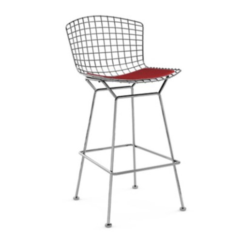 Bertoia Stool with Seat Pad by Knoll