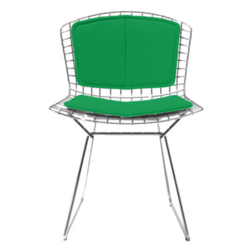 Bertoia Side Chair, Back and Seat Cushion by Knoll