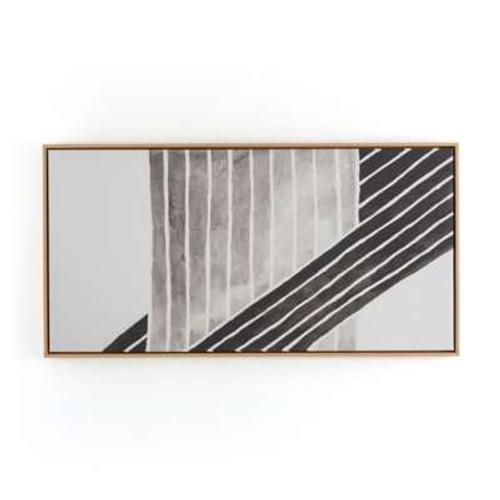 Jess Engle Planes Print with Floating Oak Frame