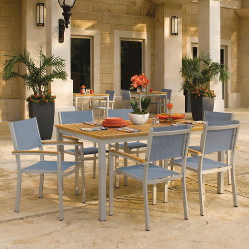"Travira 7-Piece Dining Set 63"" Dining Table"
