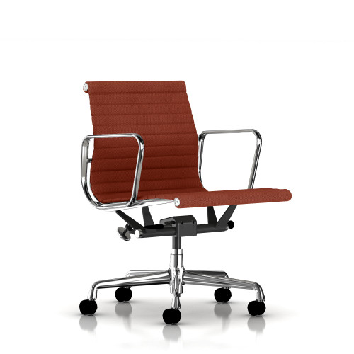 Eames Aluminum Management Chair by Herman Miller, Fabric
