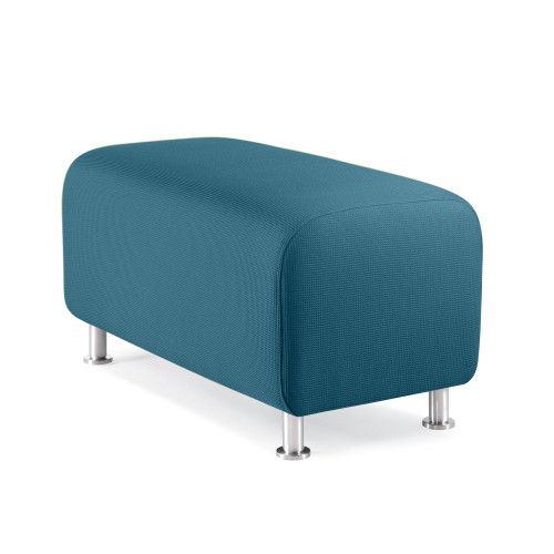 Alight Bench Ottoman by Steelcase