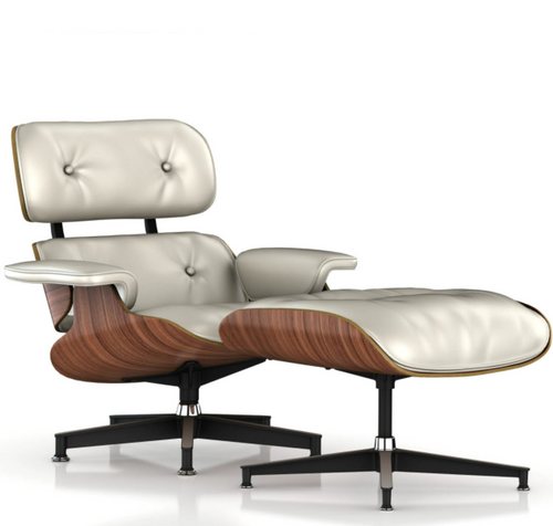 Eames Lounge Chair and Ottoman - In Stock