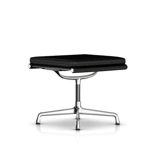 Eames Soft Pad Ottoman, Fabric by Herman Miller