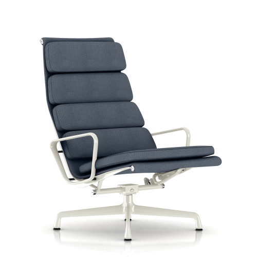 Eames Soft Pad Lounge Chair, Fabric by Herman Miller