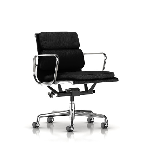 Eames Soft Pad Management Chair, Fabric by Herman Miller