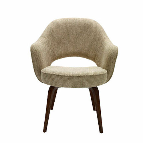 Saarinen Executive Armchair, Wood Legs by Knoll