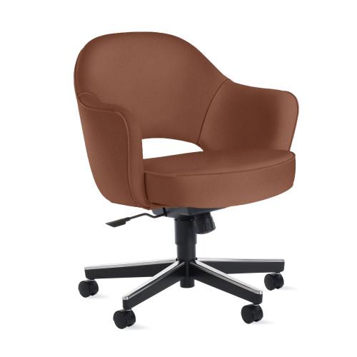 Saarinen Executive Armchair, Swivel Base by Knoll