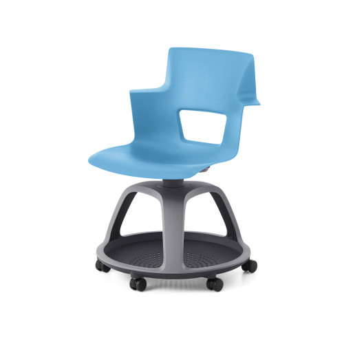 Shortcut Chair with Tripod Base by Steelcase