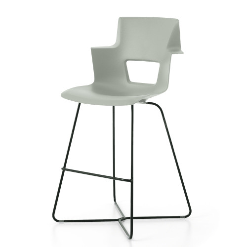 Shortcut Stool with X Base by Steelcase