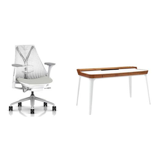 Sayl Chair / Airia Desk Work From Home Bundle