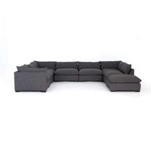 Westwood 7 Piece Sectional with Ottoman