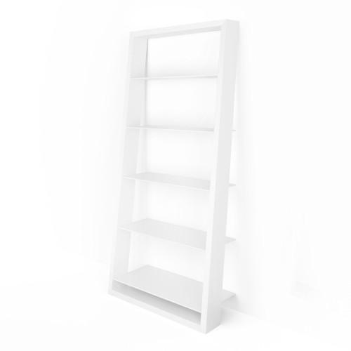 Eileen Blanc Leaning Shelf by BDI