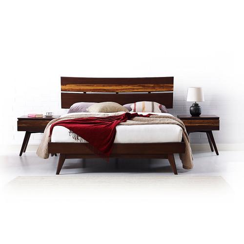 Azara California King Platform Bed